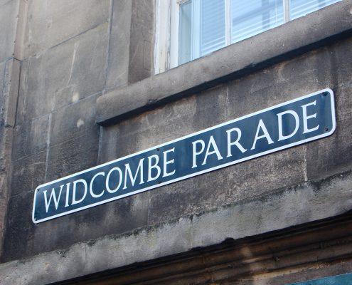 Street Sign- Widcombe Parade