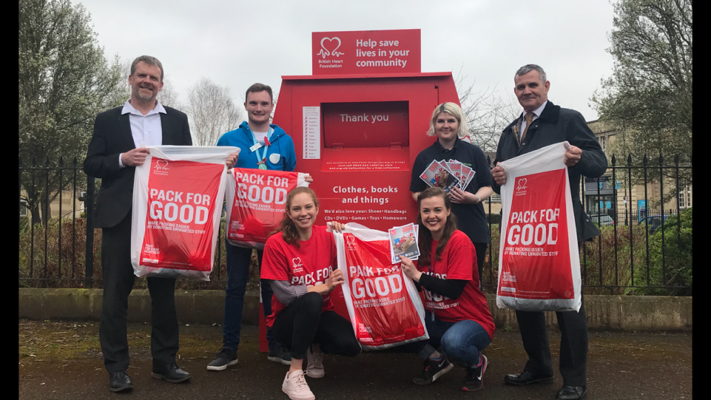 Group of partners supporting the Pack for Good campaign